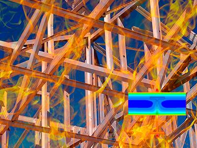 Cálculo de Resistencia al Fuego en Estructuras y Protección Pasiva